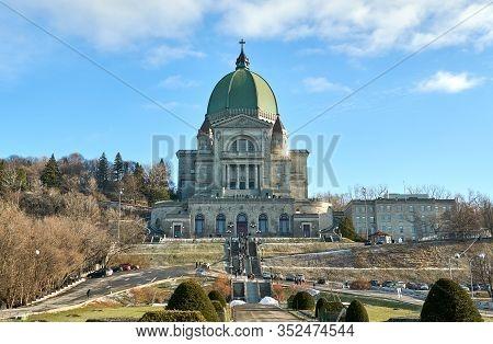 Saint Joseph's Oratory In Montreal, Quebec