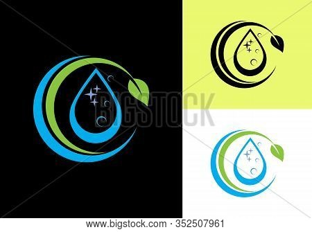 House Cleaning Service Logo Design Template, Cleaning Company Logo Sign Symbol.