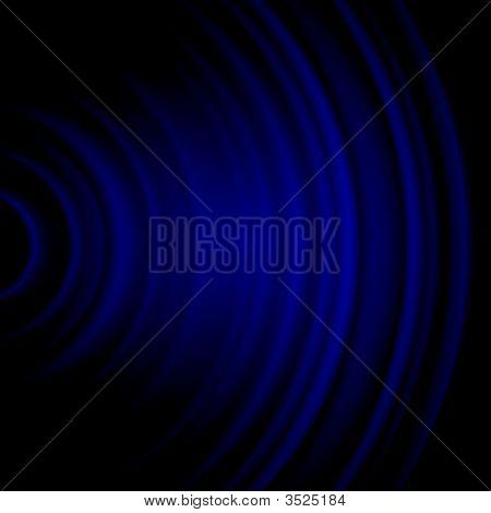 Blue Soundwaves