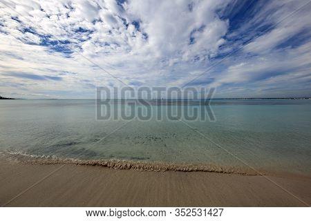 Es Trenc Beach Near Ses Salines. Majorca. Spain