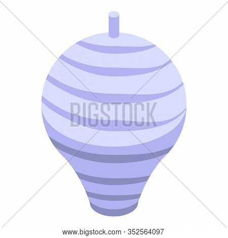 Wasp House Icon. Isometric Of Wasp House Vector Icon For Web Design Isolated On White Background