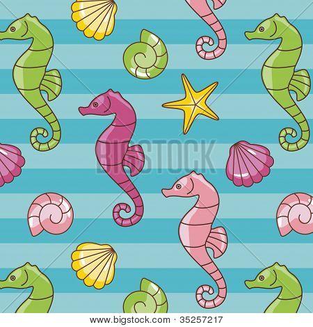Seahorses Pattern