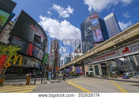 Bukit Bintang Or Star Hill, A Tourist Attraction Place