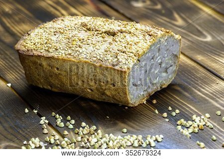 A Healthy, And Very Easy Recipe For A Vegan Buckwheat Bread Made Gluten Free Using Sesame And Sunflo