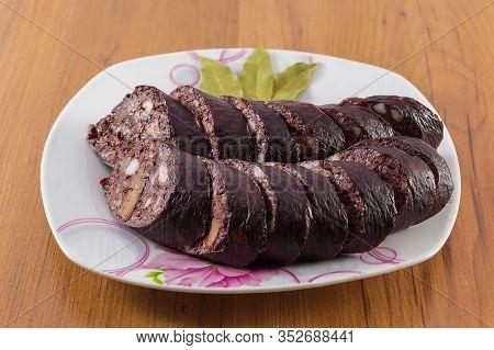 Delicious Korean Sausage Made With Fresh Vegetables Pork Blood