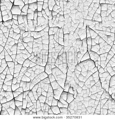 Wall With Cracks - Texture