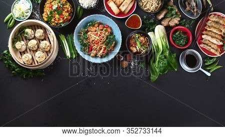 Assorted Chinese Food