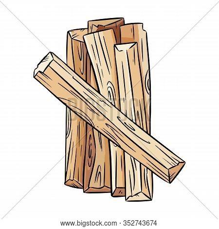 Palo Santo Holy Wood Tree Aroma Sticks From Latin America. Smudge Incense Bundle