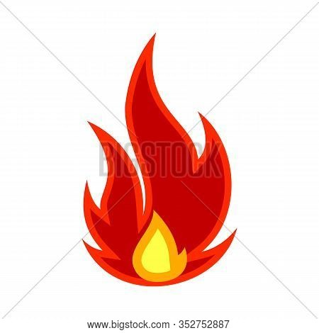 Fire Icon, Fire Icon Vector, Fire Icon Isolated On White Background, Fire Icon Image, Fire Icon Pict