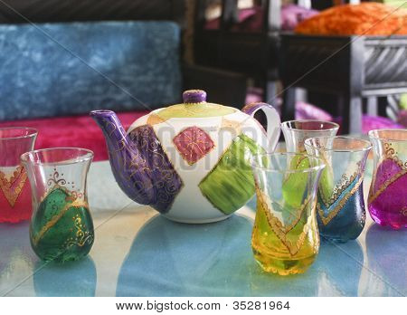 morrocan tea set