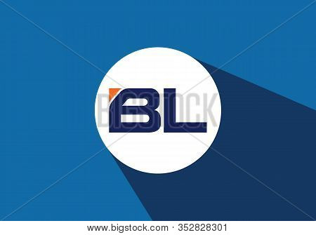 B L Initial Letter Logo Design, Creative Modern Letters Vector Icon Logo Illustration.