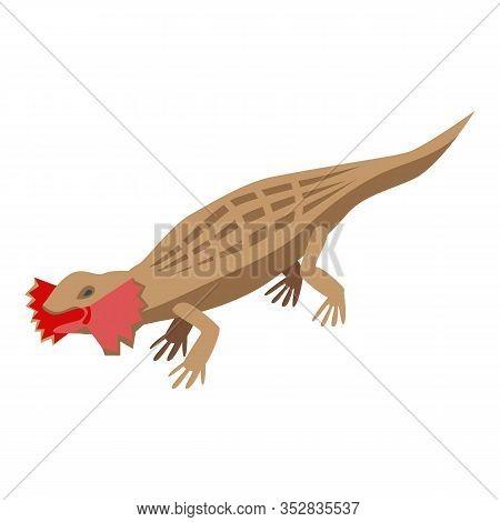 Amazon Lizard Icon. Isometric Of Amazon Lizard Vector Icon For Web Design Isolated On White Backgrou
