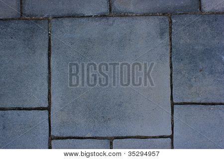 Grey Pavement Background