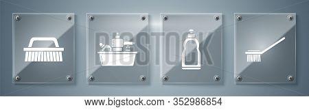 Set Toilet Brush , Plastic Bottles For Liquid Dishwashing Liquid, Plastic Bottles For Liquid Dishwas