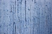 texture of blue floor rug - background texture poster