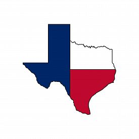 Texas Map. Texas Map Icon. Texas Symbol