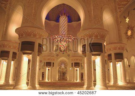 Sheikh Zayed Grand Mosque Inside