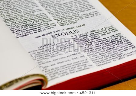 Bible Page - Exodus