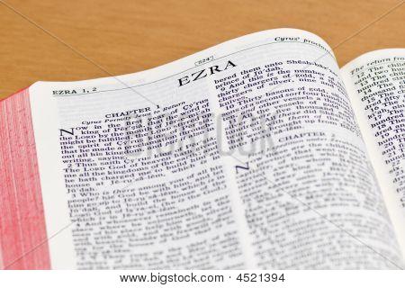 Bible Page - Ezra
