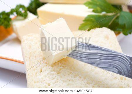 Butter On Knife