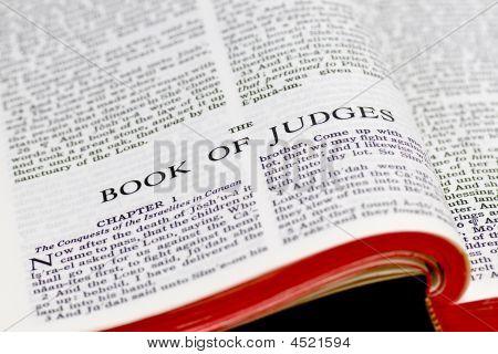 Bible Page - Judges