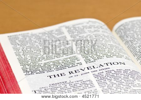 Bible Page - Revelation