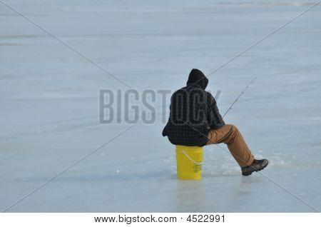 Ice Fisherman