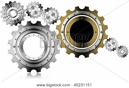 Industrial Gears Background