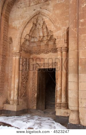 Entrance To Ishak Pasha Palace, Eastern Turkey