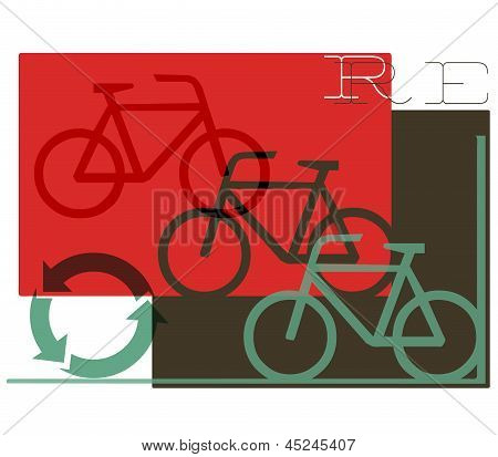 Abstract Cycling Recycling Concept