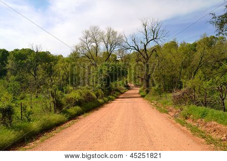 Oklahoma Dirt Road