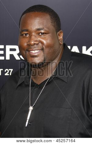 LOS ANGELES - AUG 4: Aaron Quinton at the World Premiere of Takers, held at the Arclight Cinerama Dome in Los Angeles, California on 4 August 2010