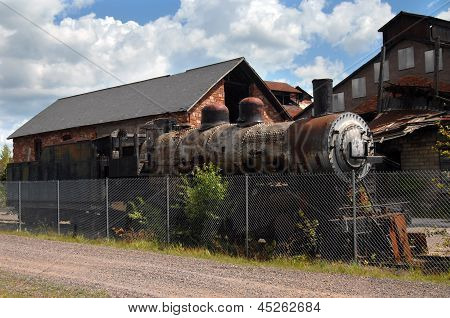 Northern Pacific Steam Locomotive