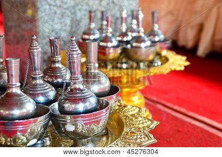 Buddhist's Grail. For Buddhist Prayer
