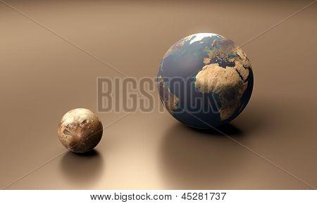 Ganymede And Earth Blank
