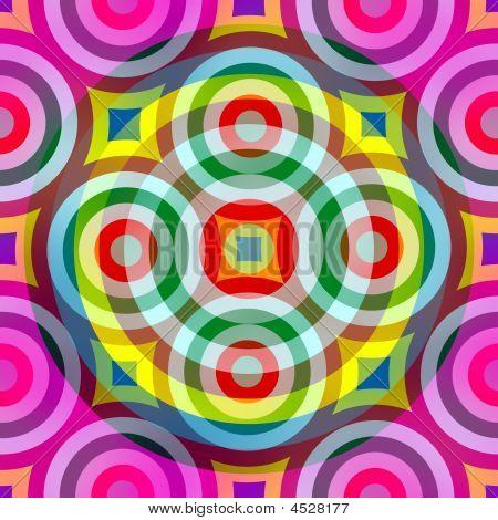 Retro Ring Pattern