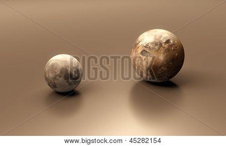 Ganymede And The Moon Blank