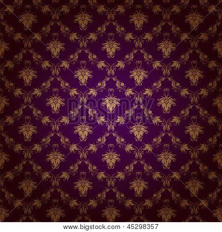 Damaris seamless floral pattern