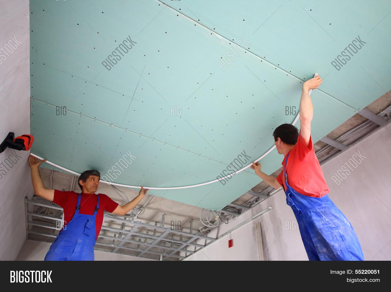 Как сделать разметку для натяжного потолка
