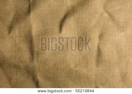 Mint Burlap Canvas Texture For Background.