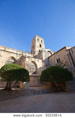 Saint Trophime Cathedral (xii C.)  In Arles, France