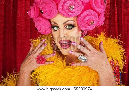 Excited Drag Queen