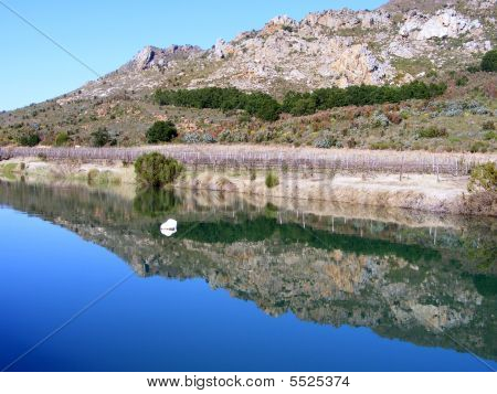 Reflections In A Dam
