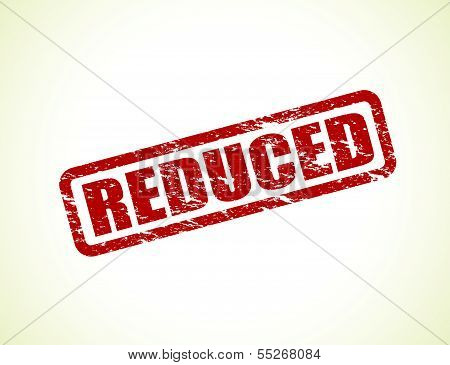 reduced stamp