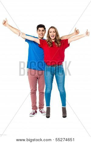 Young Couple Enjoying Their Day