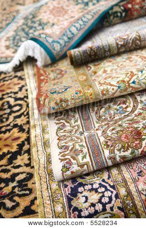 Persian Silk Rugs