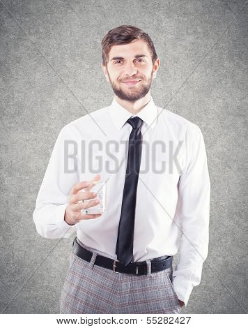 Man With A Glass