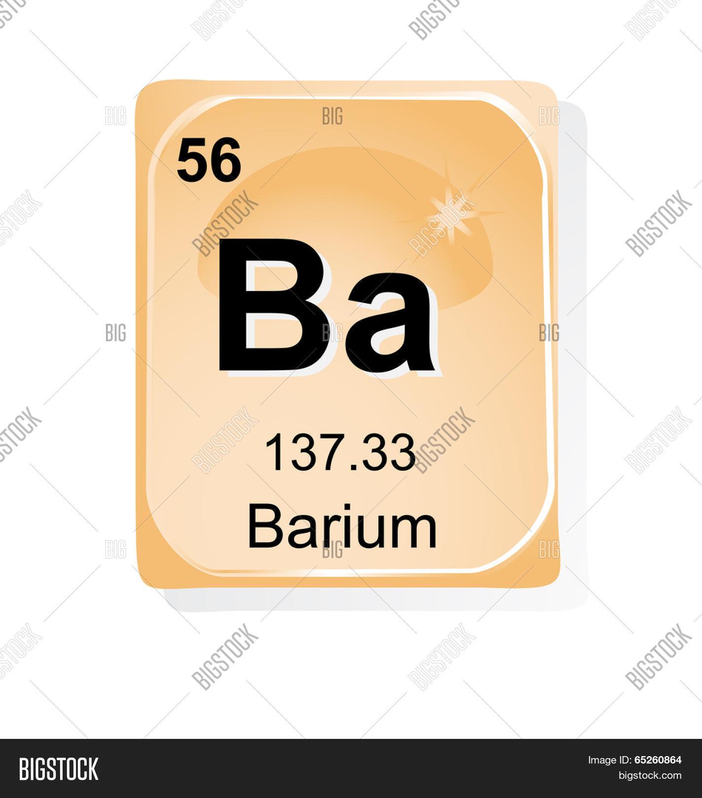 Barium Chemical Vector Photo Free Trial Bigstock