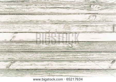 White Washed Painted Wood Plank Background Texture.