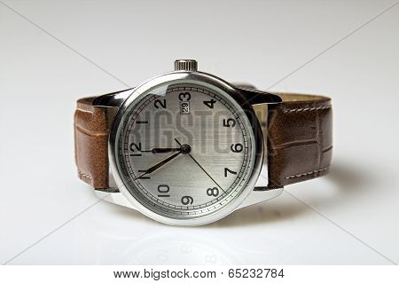 The Picture Shows A Wrist Watch
